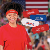 Patriotic Sweatbands (4-Pack)
