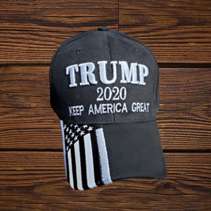 Premium Trump 2020 Keep American Great Custom Embroidered Cotton Twill Hat