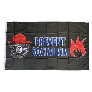 MAGA Bear Prevent Socialism 3'x5' 100D Rough Tex® Flag