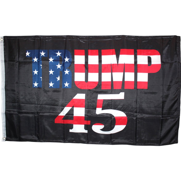 Stars and Stripes Trump 45 3'X5' ROUGH TEX® 100D Flag