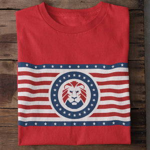 Patriot Party Striped Logo Unisex T-Shirt