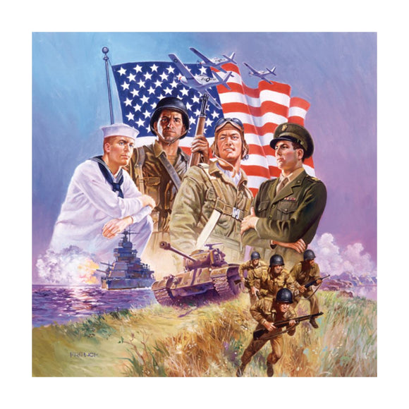 Armed Forces 500 Piece Puzzle