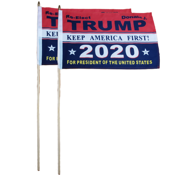 Re-Elect Trump 2020 Keep America First 12x18