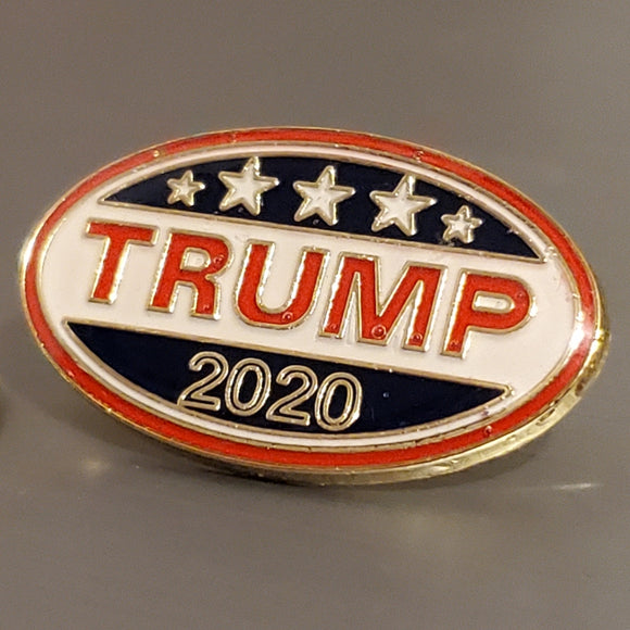 Trump 2020 Collectors Edition Oval Pin (Collectors Edition)