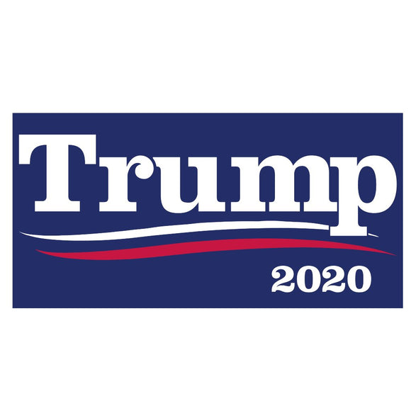 Trump 2020 Weatherproof Bumper Sticker