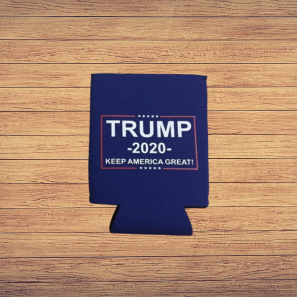 Trump 2020 Keep America Great Koozie (Blue)