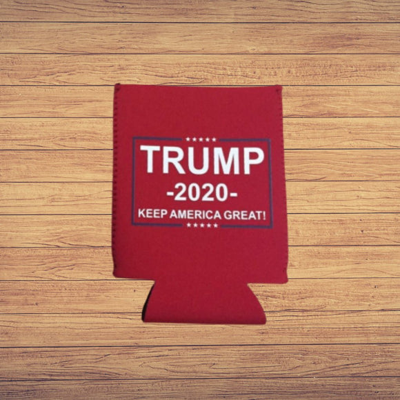 Trump 2020 Keep America Great Koozie (Red)