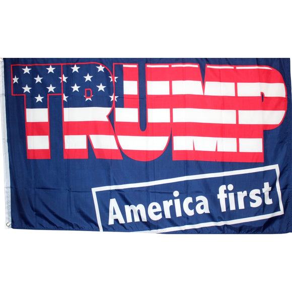 Trump America First 68D Rough Tex® 6'x10' XXXL Flag