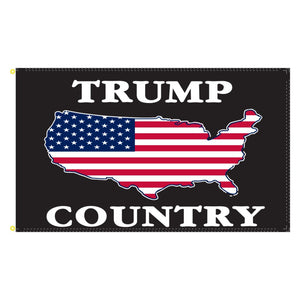 Trump Country 3'x5' 100D Rough Tex® Flag