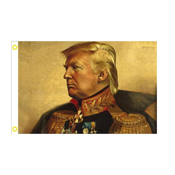 Trump General 3'x5' 100D Rough Tex® Flag