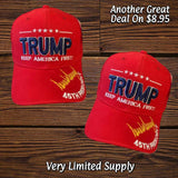 Trump Keep America First (45th President Signature) Hat
