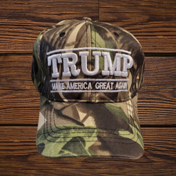 Trump Make America Great Again Camo Hat