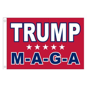 Trump MAGA (5 Star) 3'x5' 100D ROUGH TEX® Flag