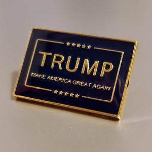 "Trump ""Make America Great Again"" Enamel Lapel Pin (COLLECTORS ITEM)"
