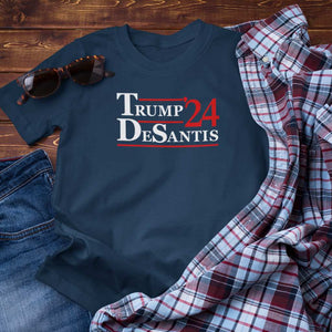 Trump DeSantis '24 Unisex T-Shirt (6 Colors)