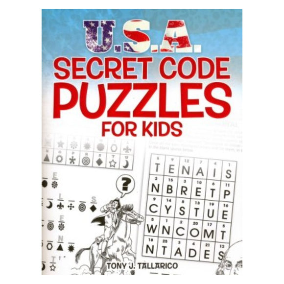 USA Secret Puzzle Book for Kids (By: Tony J. Tallarico)