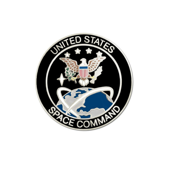United States Space Command Lapel Pin
