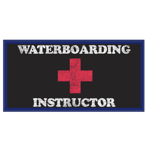 Waterboarding Instructor Weatherproof Bumper Sticker