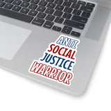 Anti Social Justice Warrior Sticker