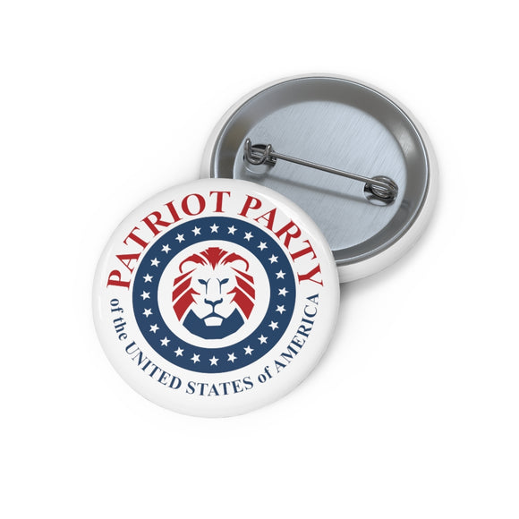 Patriot Party Custom Pin