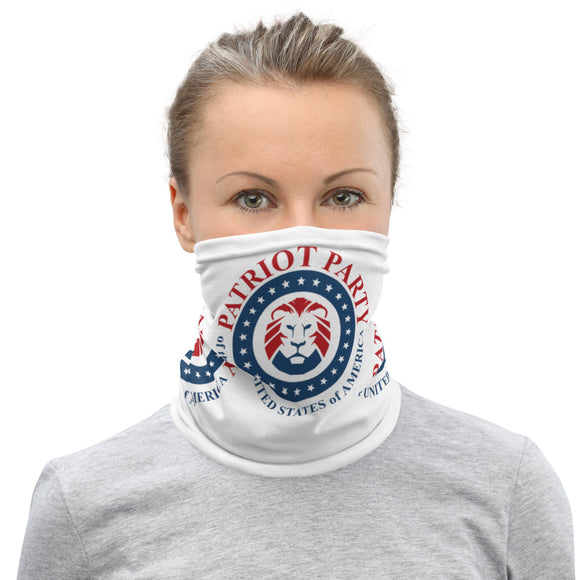 Patriot Party Lion Unisex Neck Gaiter