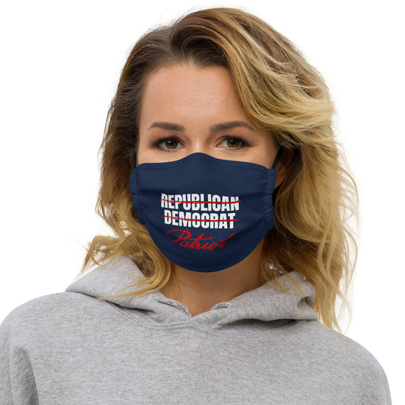 Republican Democrat Patriot Premium Mask