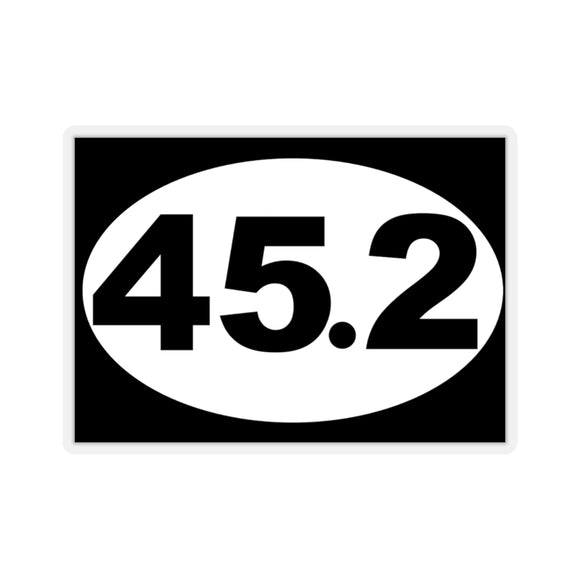 Trump 45.2 Oval Sticker (4 sizes)