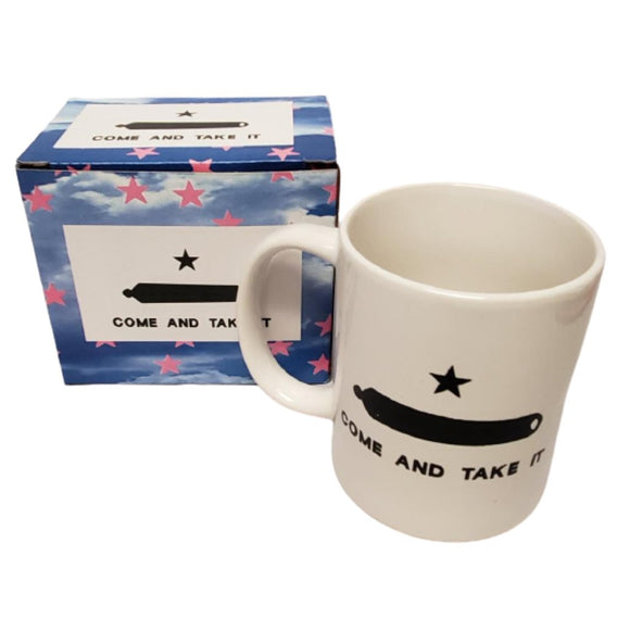 Come and Take it TX Gonzales Cannon Mug