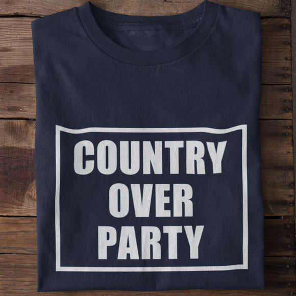 Country Over Party Unisex Heavy Cotton T-shirt