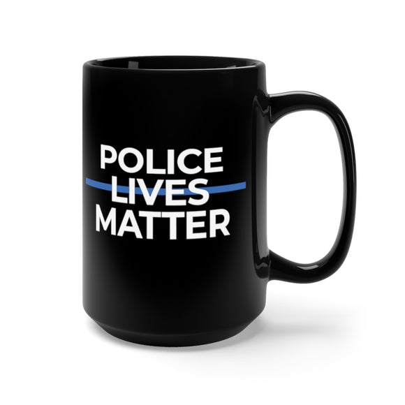 Police Lives Matter Ceramic Mug 15oz