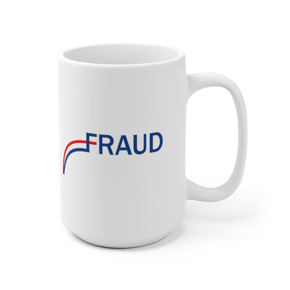 Fraud White Ceramic Mug (11oz and 15oz)