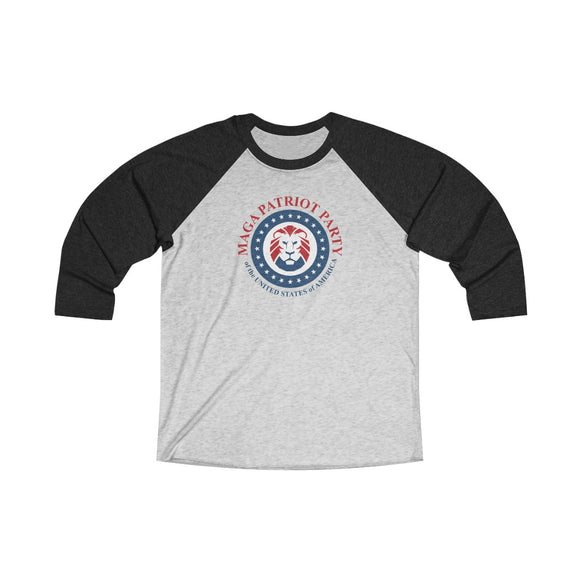 MAGA Patriot Party Unisex Raglan T-shirt