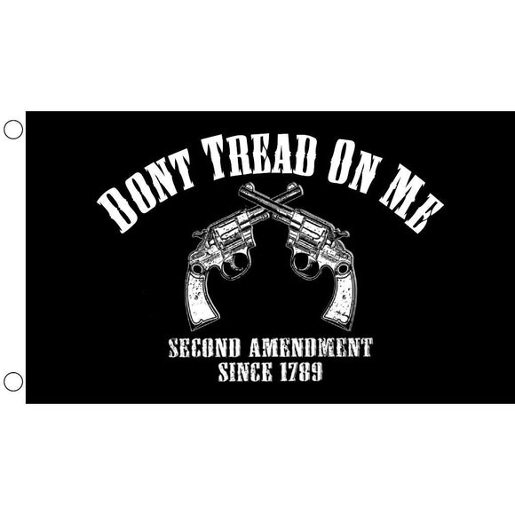 Don't Tread on Me Second Amendment Since 1789 Flag - Flag and Cross
