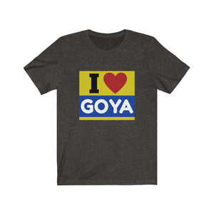 I Love GOYA Unisex Cotton T-shirt