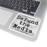 Defund the Media Sticker
