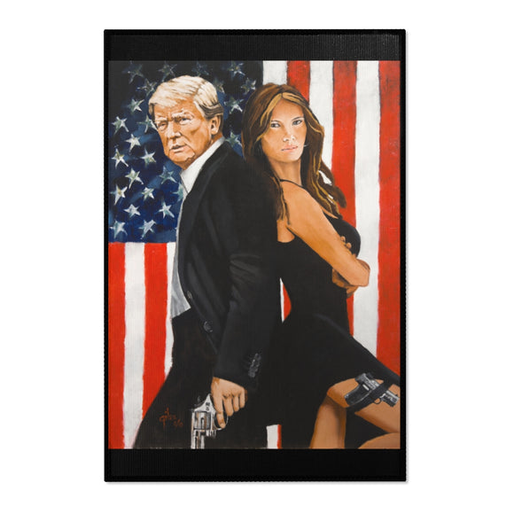 Mr. and Mrs. Trump Area Rug (6 Sizes)