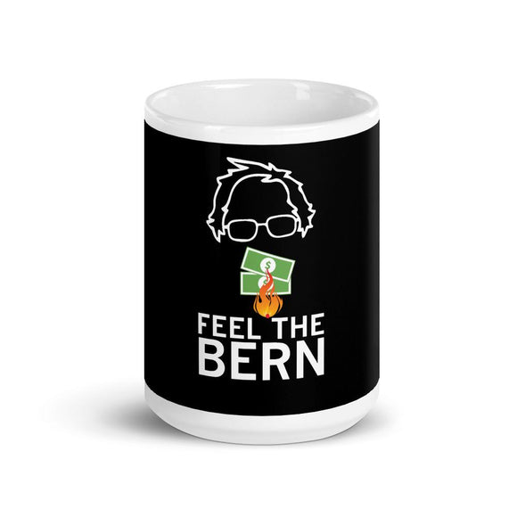 Feel the BERN Ceramic Mug - Flag and Cross