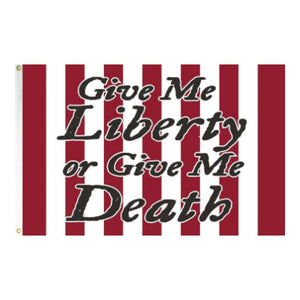 Give Me Liberty or Give Me Death 3'x5' 100D Rough Tex® Flag