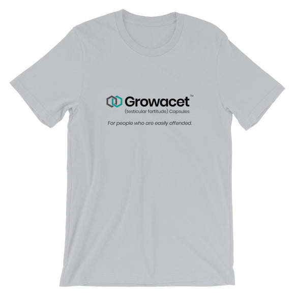 Growacet Short-Sleeve Unisex T-Shirt - Flag and Cross