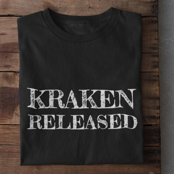 Kraken Released Cotton Unisex T-Shirt