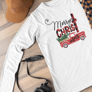 Merry CHRISTmas Unisex Long Sleeve Shirt