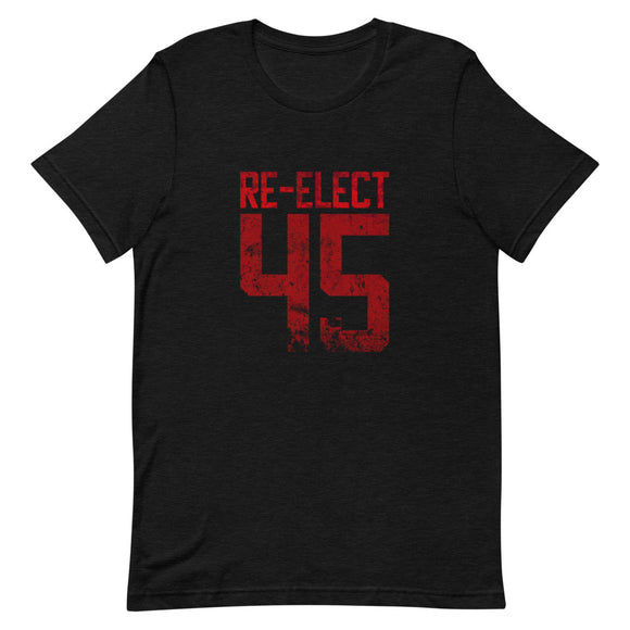 Re-Elect 45 Cotton Short-Sleeve Unisex T-Shirt