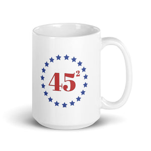 Trump 45 (squared) 15oz Ceramic Mug