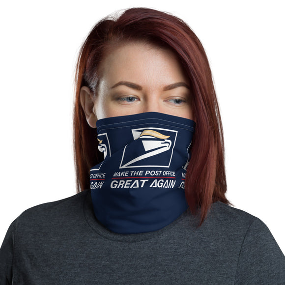 Make the Post Office Great Again Face and Neck Gaiter