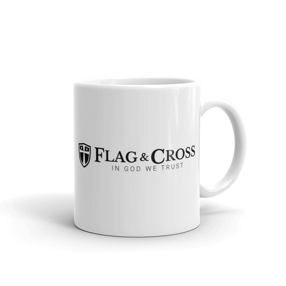 Flag & Cross Logo Mug