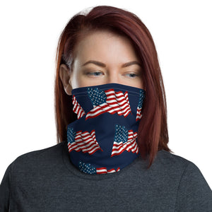 American Flag Patriotic Face and Neck Gaiter