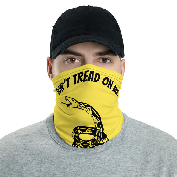 Don't Tread on Me Face and Neck Gaiter