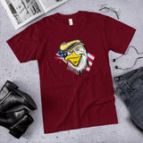 Trumpy Patriotic Eagle Cotton Unisex T-Shirt (Made in the USA)