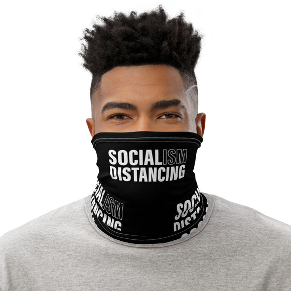Socialism Distancing Face-Neck Gaiter