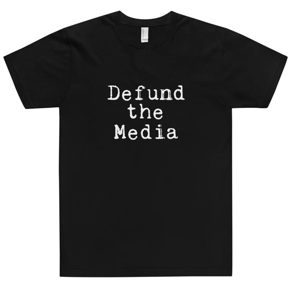 Defund the Media Cotton Unisex T-Shirt